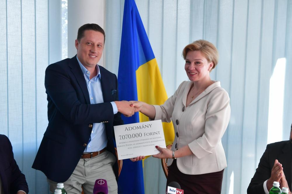 Magyar segítség Kelet-Ukrajnának